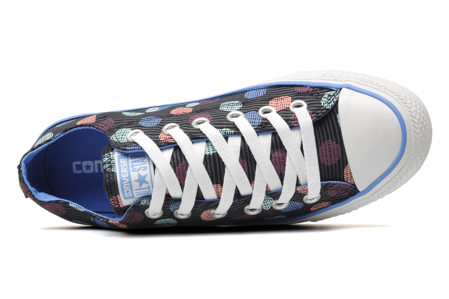 Trainers Converse Chuck Taylor All Star Polka Dot Ox W Multicolor view from the left