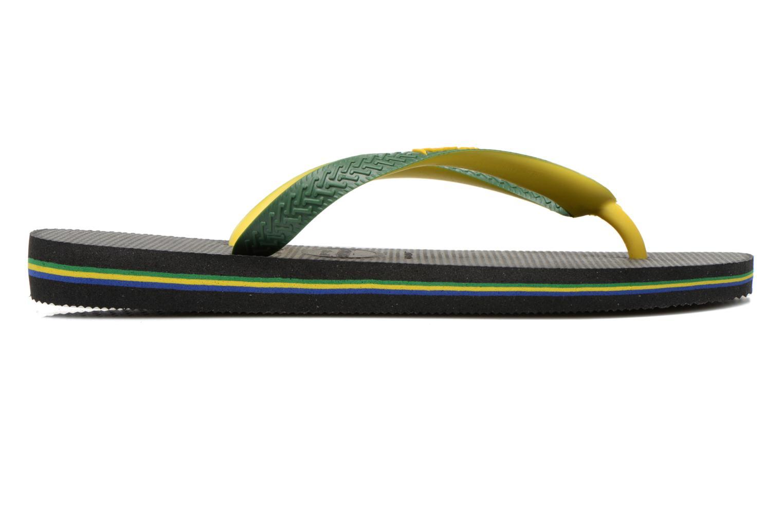 Flip flops Havaianas Brasil Mix H Green back view