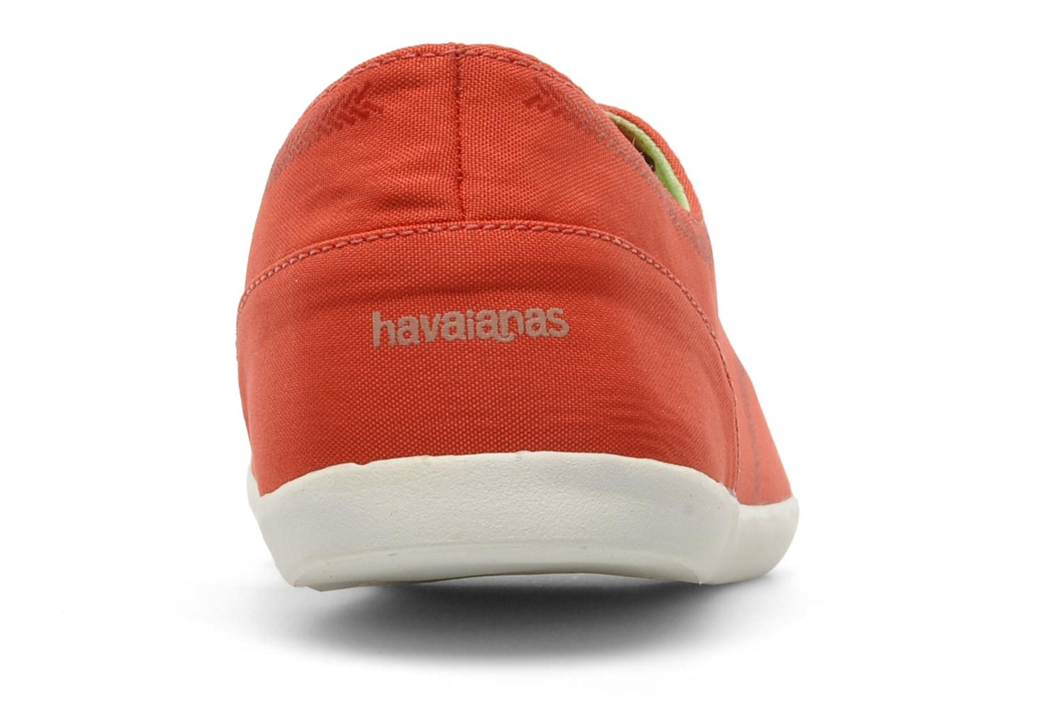Trainers Havaianas Essentia Low W Orange view from the right