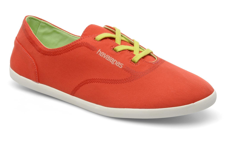 Sneakers Havaianas Essentia Low W Orange detaljeret billede af skoene