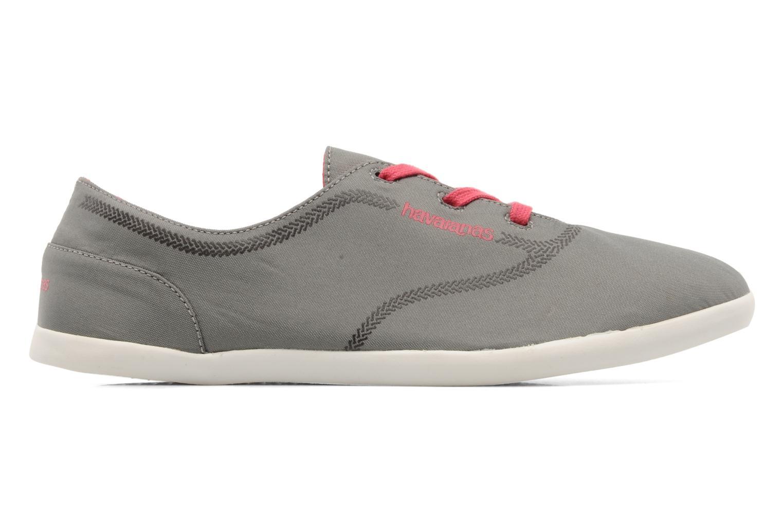 Sneaker Havaianas Essentia Low W grau ansicht von hinten