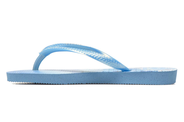 Slippers Havaianas Kids Slim Princess Blauw voorkant