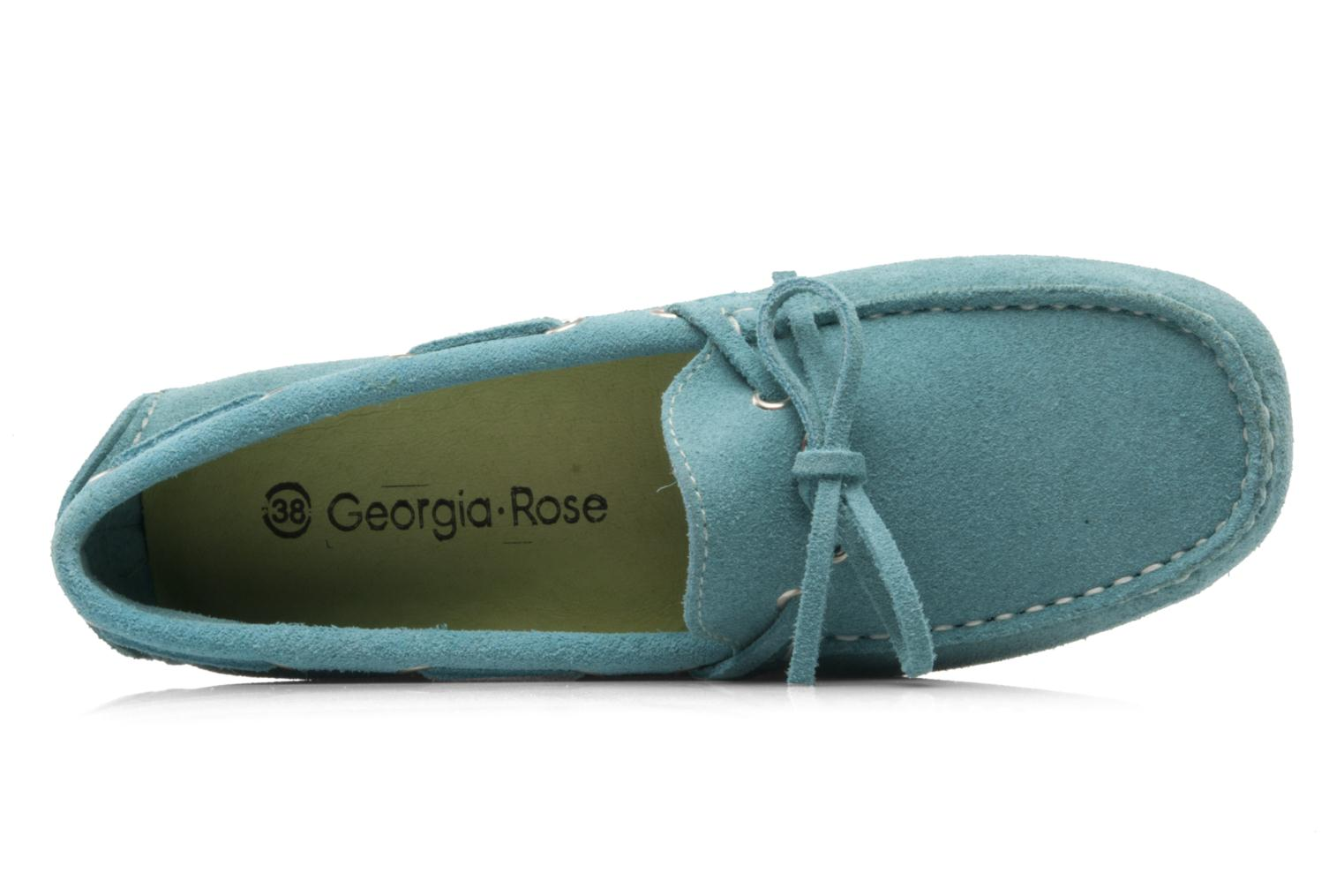 Loafers Georgia Rose Palario Blue view from the left