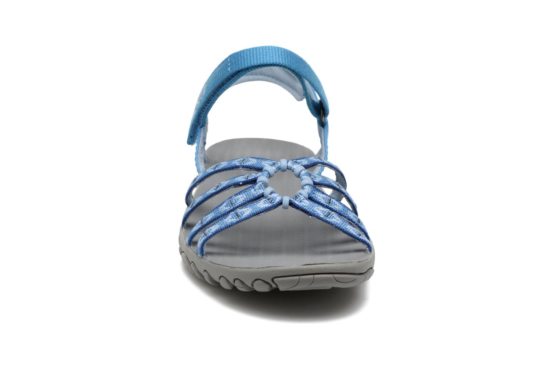 Scarpe sportive Teva Kayenta W Azzurro modello indossato