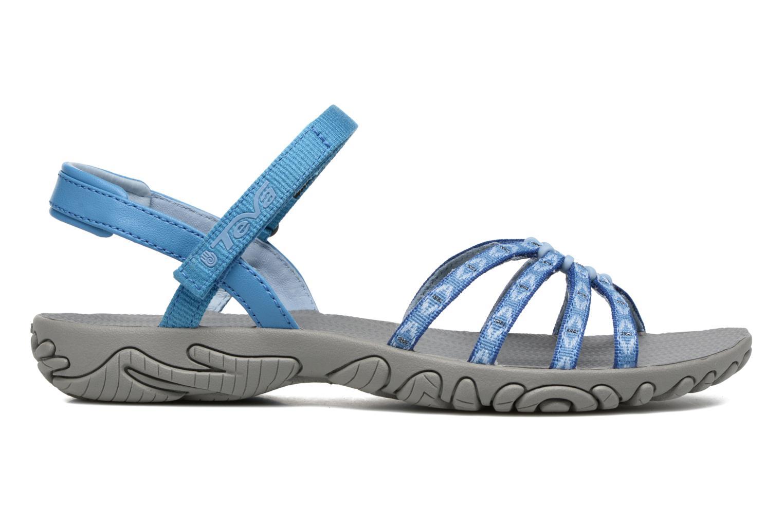 Sport shoes Teva Kayenta W Blue back view