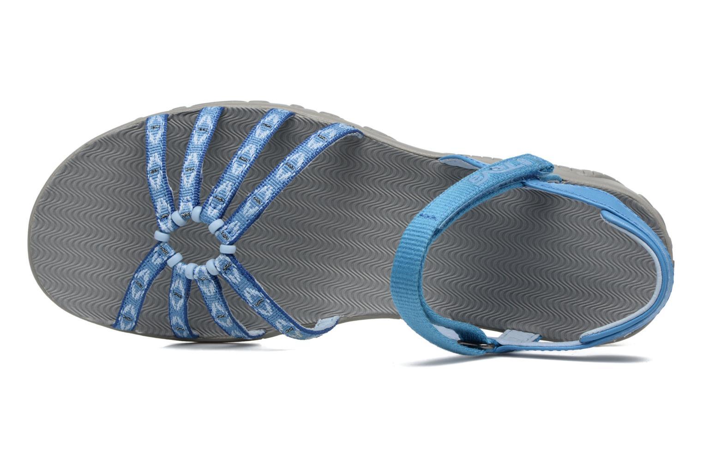 Scarpe sportive Teva Kayenta W Azzurro immagine sinistra