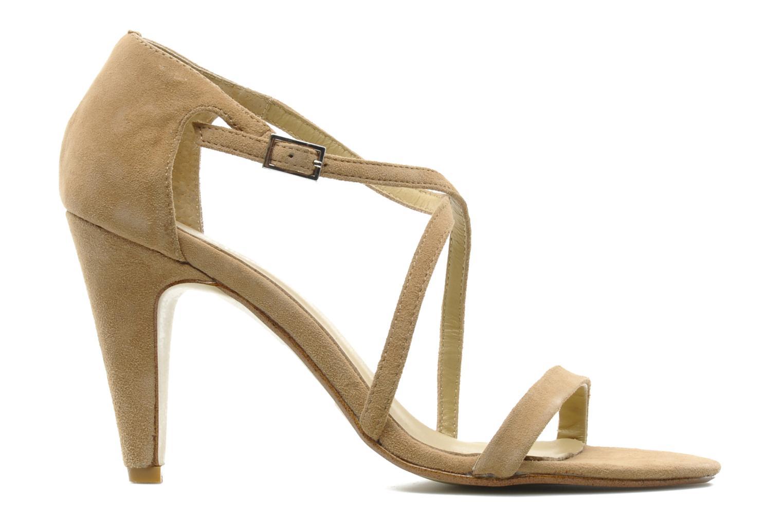 Sandales et nu-pieds Georgia Rose Soara Beige vue derrière