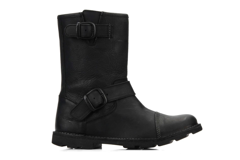 Bottines et boots Kickers Kickbike Noir vue derrière