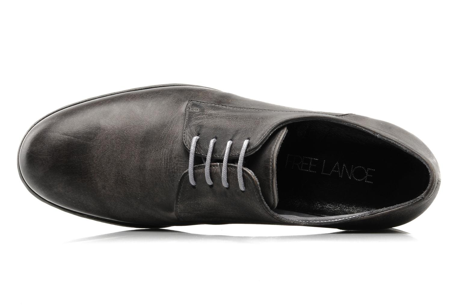Lace-up shoes Free Lance Azev 4 derby Grey view from the left
