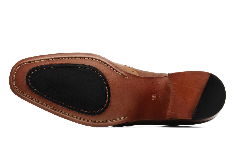 Chaussures à lacets Free Lance Totsy 4 derby perfo Marron vue haut