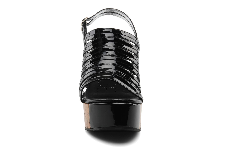 Daphne 7 sandalstrap vernis soft/veau noir