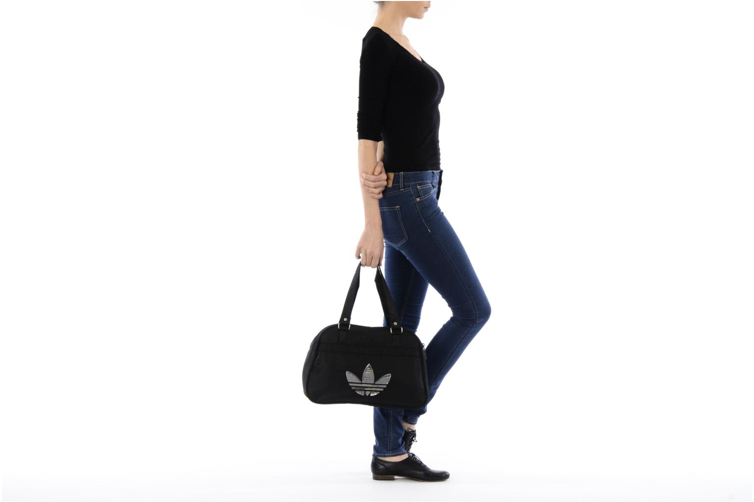 Sports bags Adidas Originals WMN SY BOWLING BAG Black view from above