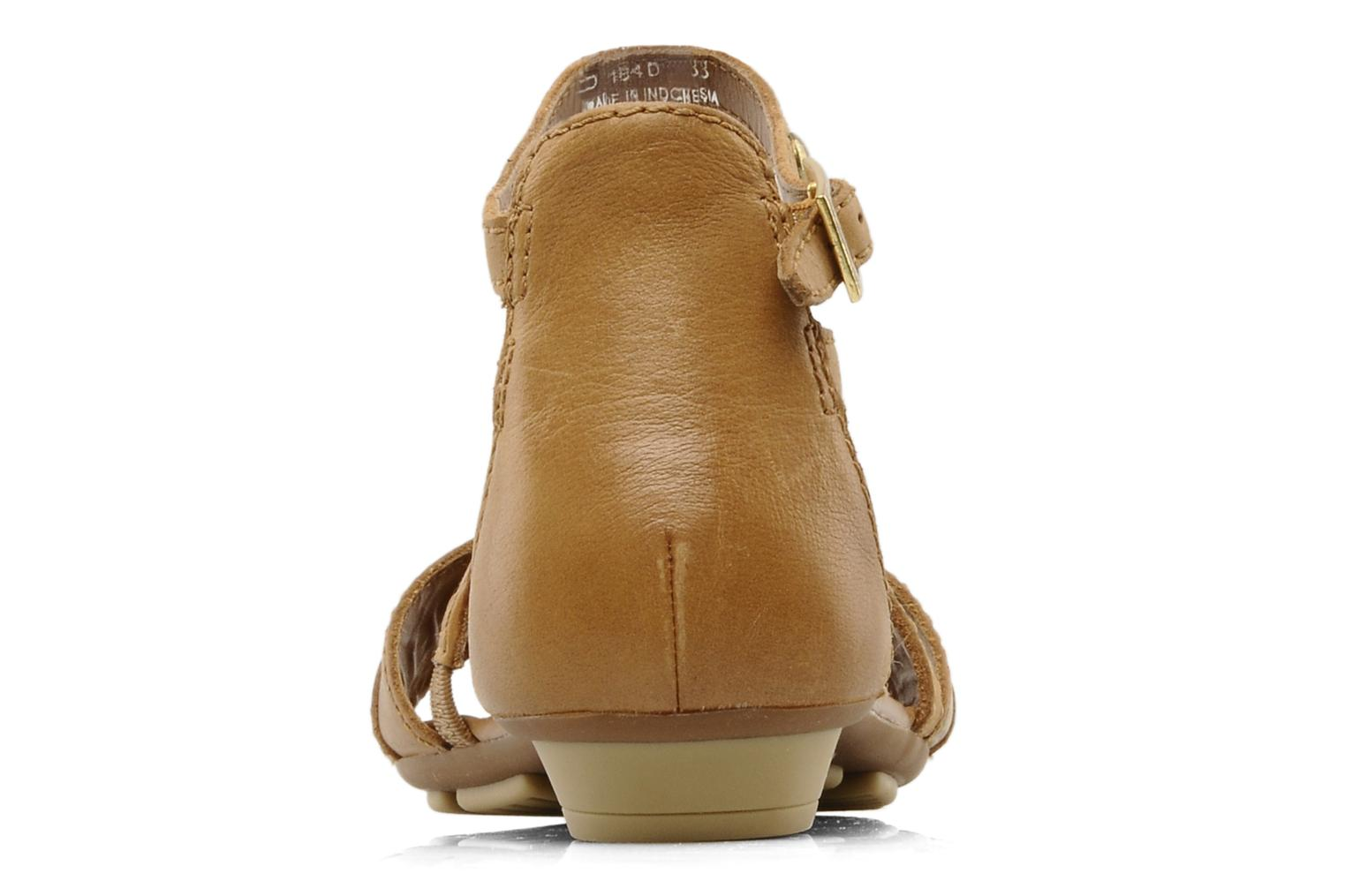 Sandals Geox D felisa d Brown view from the right