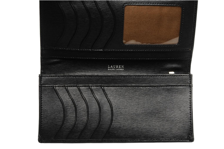 Petite Maroquinerie Lauren by Ralph Lauren NEWBURY Continental Noir vue derrière