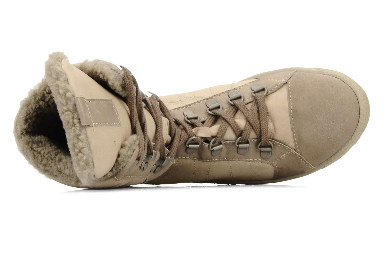 Sneaker Pataugas Janet w beige ansicht von links