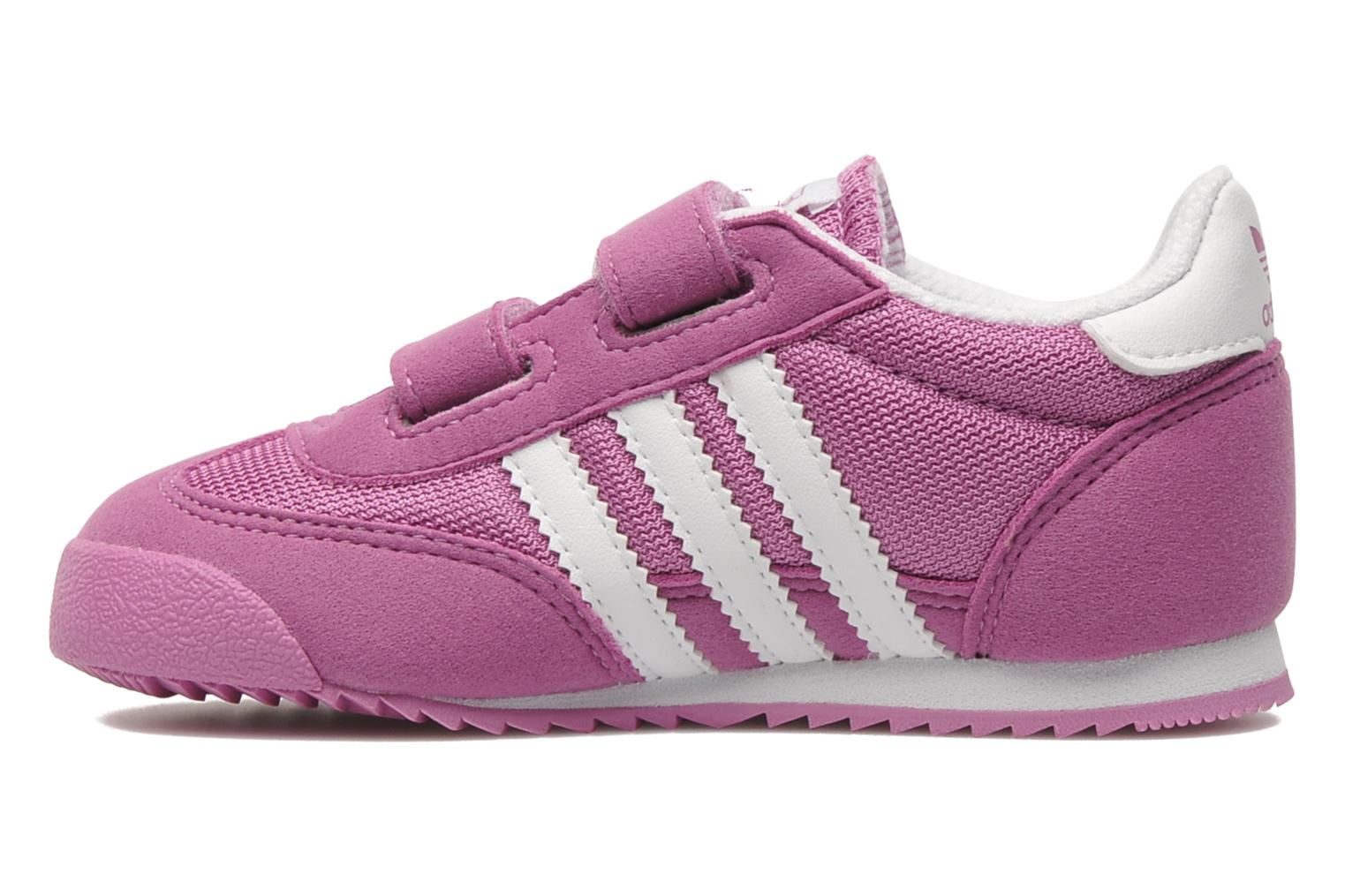 Deportivas Adidas Originals Dragon CF I Rosa vista de frente