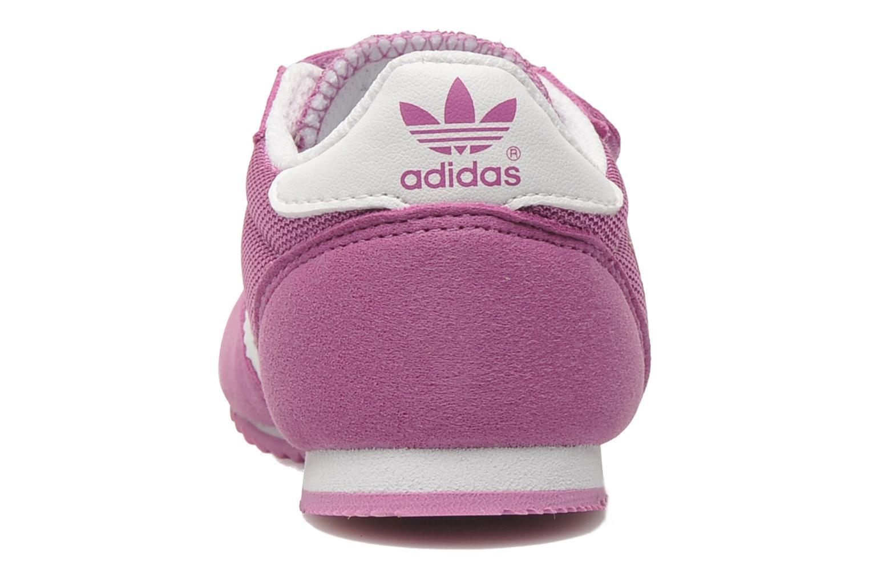 Sneaker Adidas Originals Dragon CF I rosa ansicht von rechts