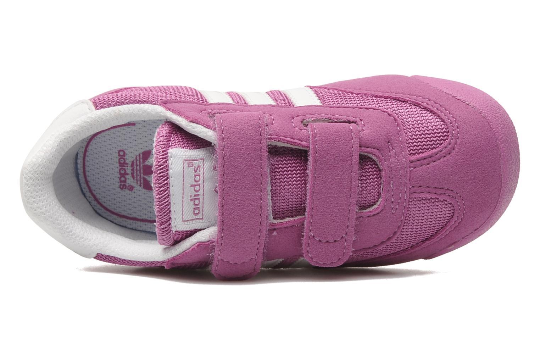 Sneaker Adidas Originals Dragon CF I rosa ansicht von links