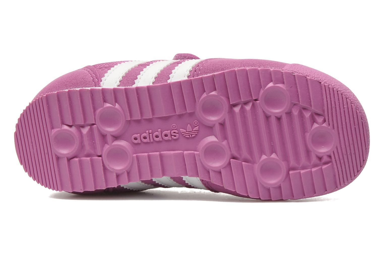 Sneaker Adidas Originals Dragon CF I rosa ansicht von oben