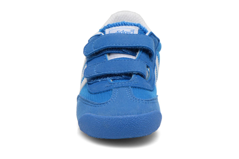 Baskets Adidas Originals Dragon CF I Bleu vue portées chaussures