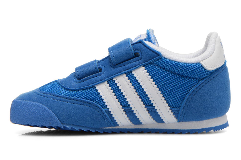 Baskets Adidas Originals Dragon CF I Bleu vue face