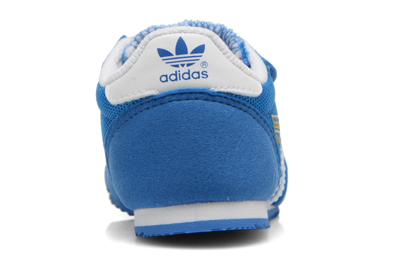 Deportivas Adidas Originals Dragon CF I Azul vista lateral derecha