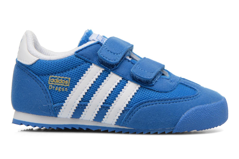 Sneaker Adidas Originals Dragon CF I blau ansicht von hinten