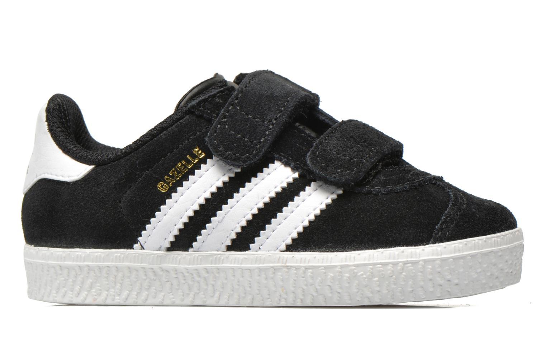 Sneaker Adidas Originals Gazelle 2 CF I schwarz ansicht von hinten