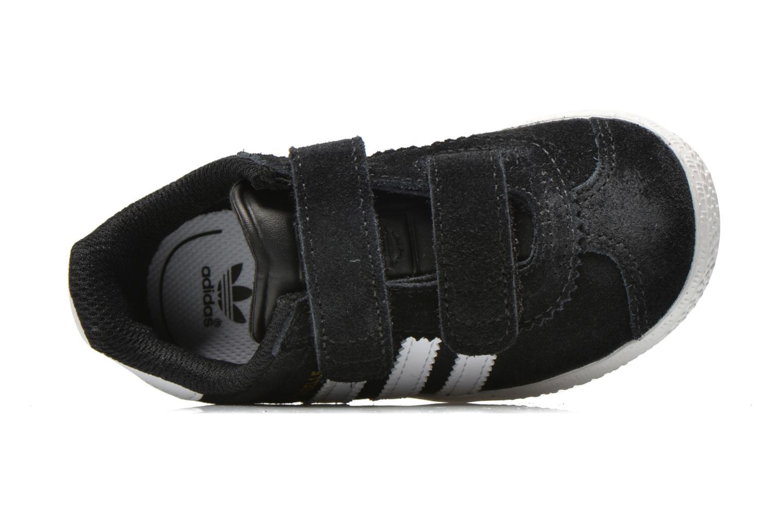 Sneaker Adidas Originals Gazelle 2 CF I schwarz ansicht von links