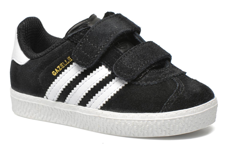 Baskets Adidas Originals Gazelle 2 CF I Noir vue détail/paire