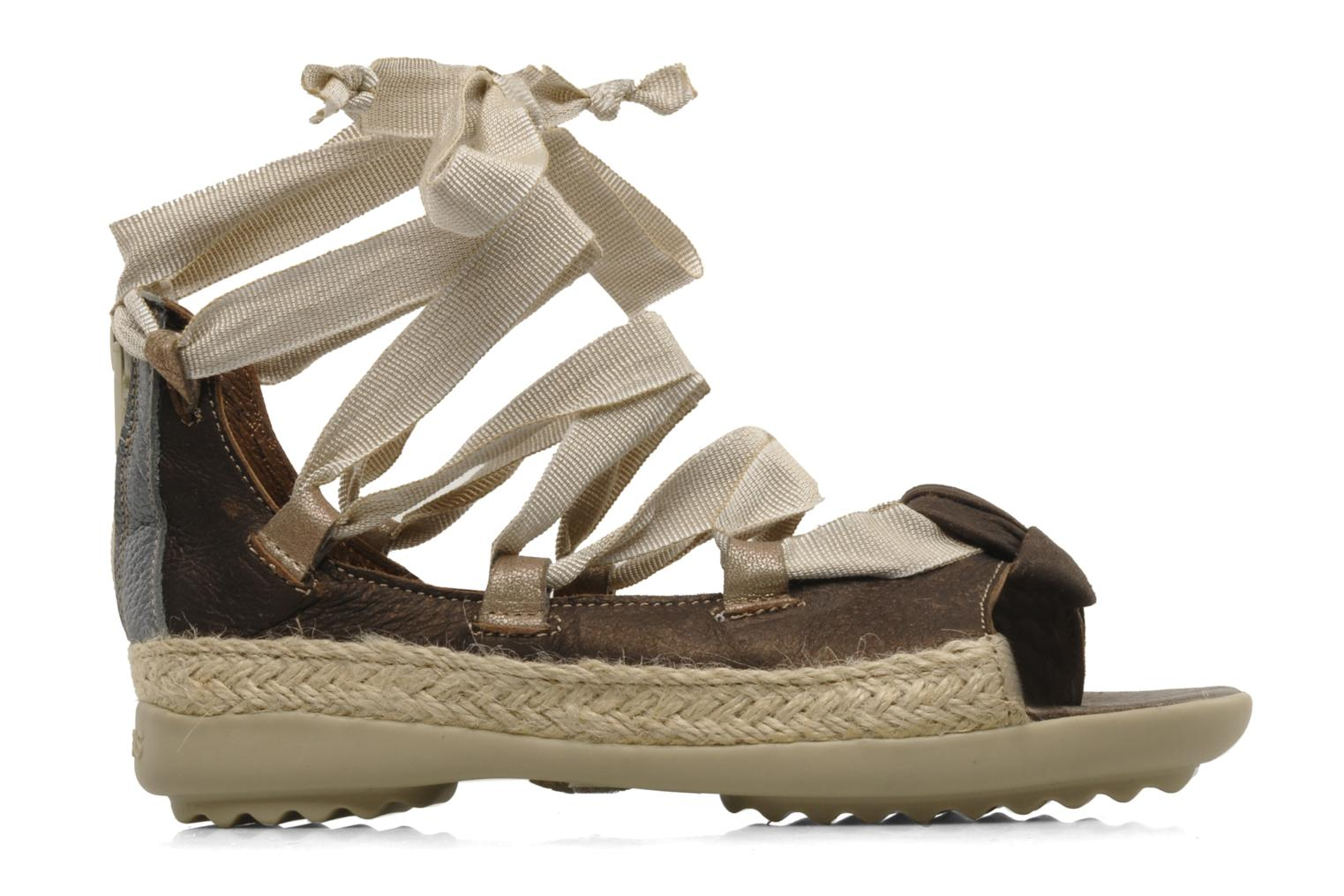 Sandals Pataugas Midnight e Brown back view