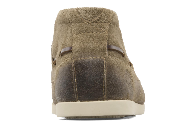 Zapatos con cordones Timberland CL 16 Chukka Beige vista lateral derecha