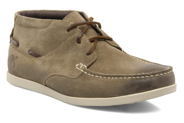 Zapatos con cordones Timberland CL 16 Chukka Beige vista de detalle / par