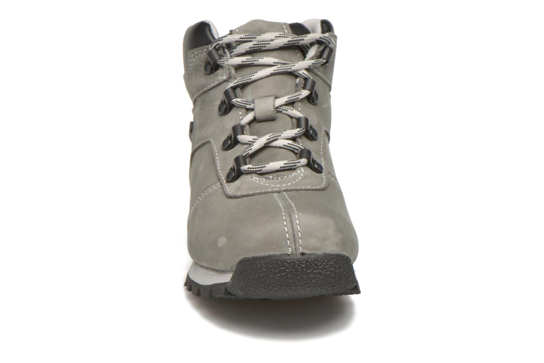 Stiefeletten & Boots Timberland Splitrock 2 Kid grau schuhe getragen