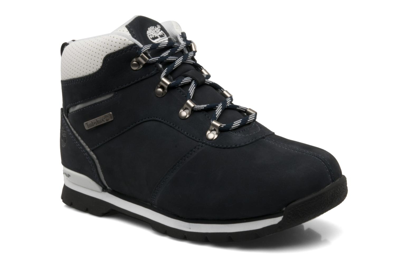 Boots en enkellaarsjes Timberland Splitrock 2 Kid Blauw detail