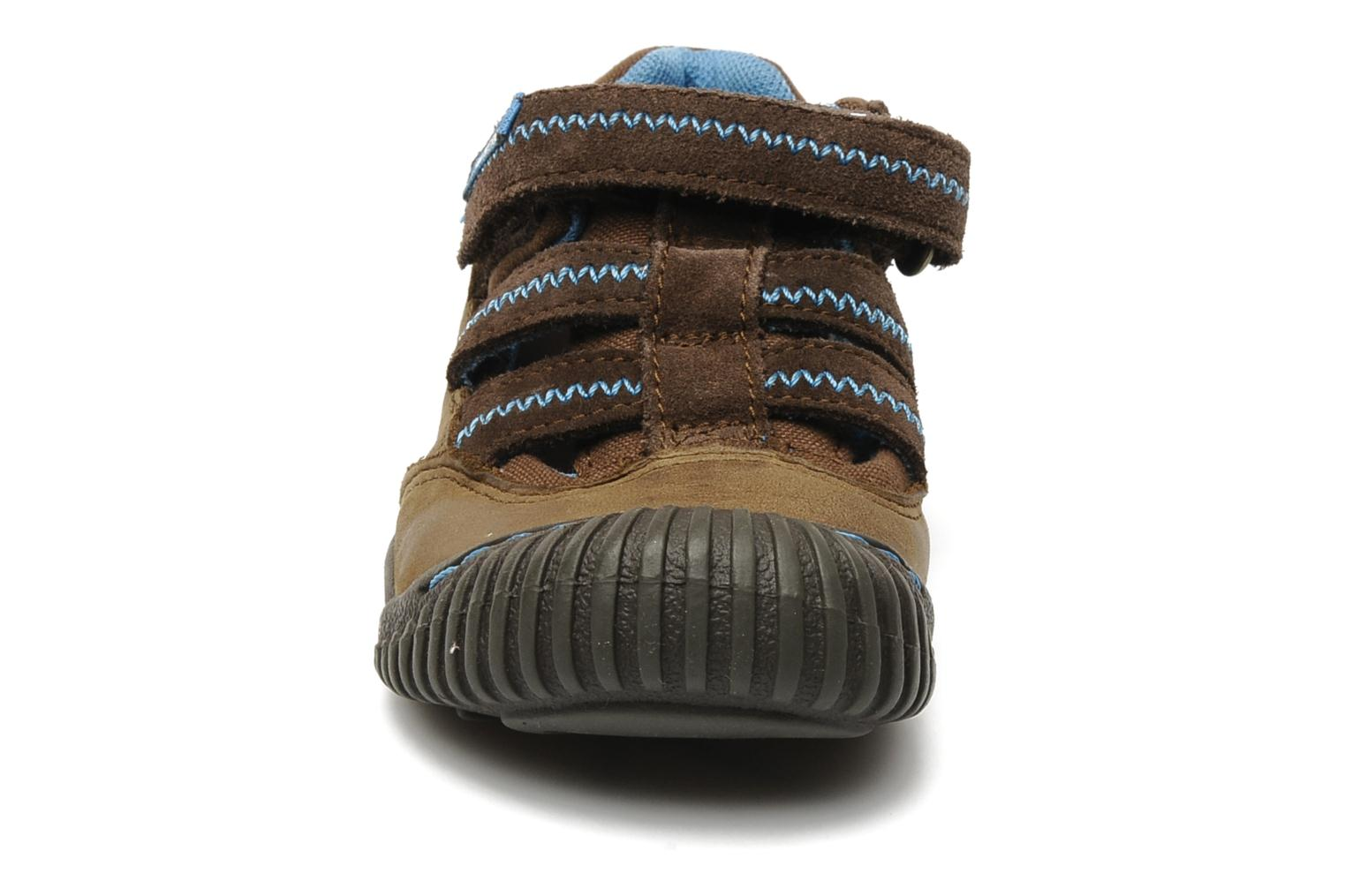 Baskets Timberland Crown Point Fisherman 2 Marron vue portées chaussures
