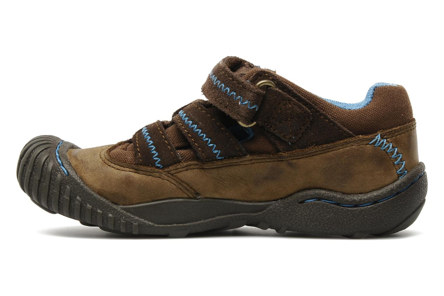 Sneaker Timberland Crown Point Fisherman 2 braun ansicht von vorne