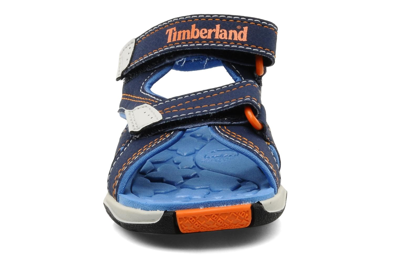 Sportschuhe Timberland Mad River 2-Strap Sandal blau schuhe getragen