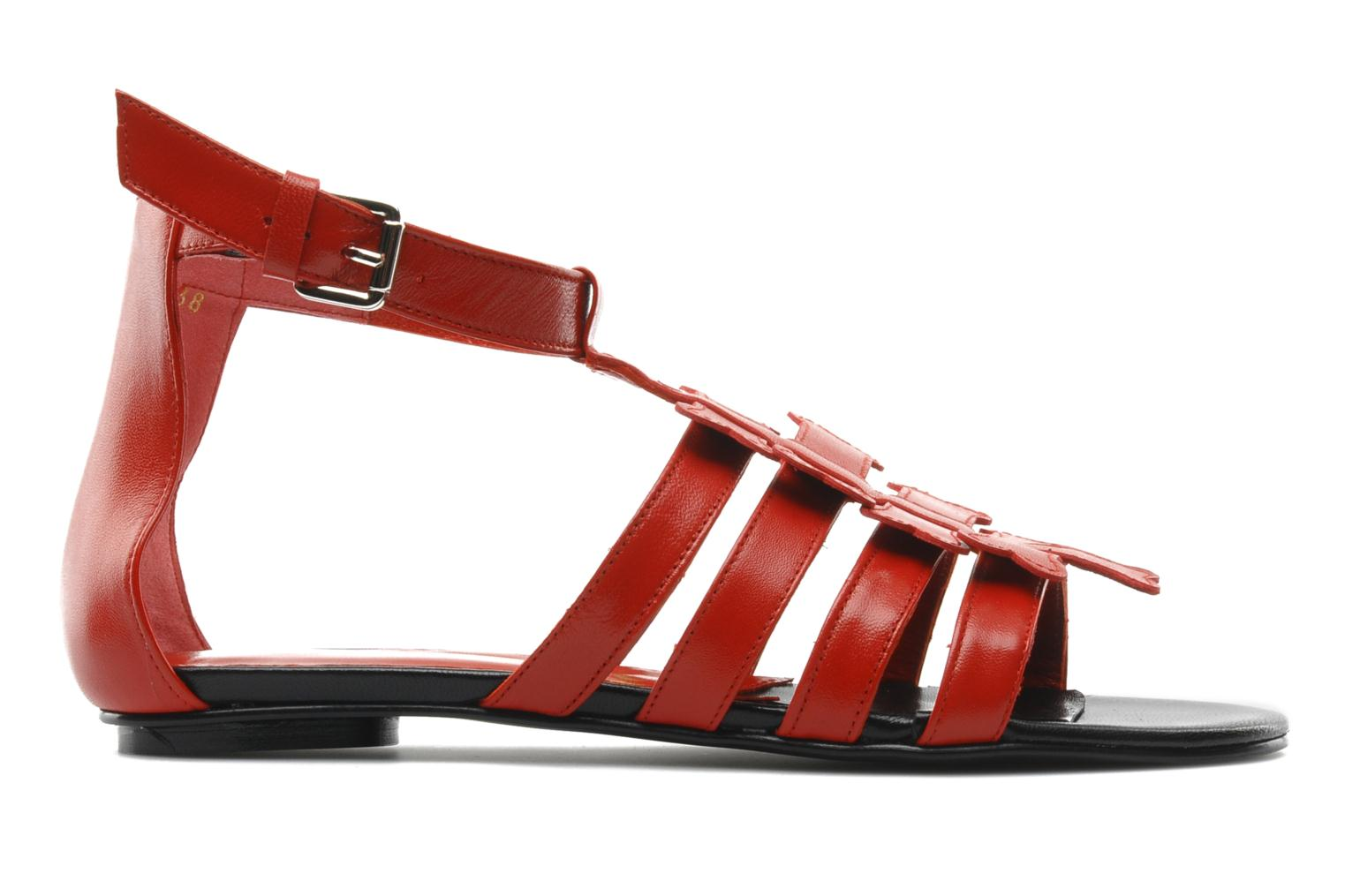 Sandals Mellow Yellow Leskelet Red back view