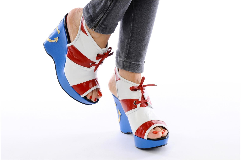Sandales et nu-pieds Mellow Yellow Lancre Multicolore vue bas / vue portée sac