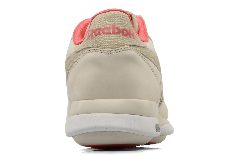 Chaussures de sport Reebok Easytone CL Leather Beige vue droite