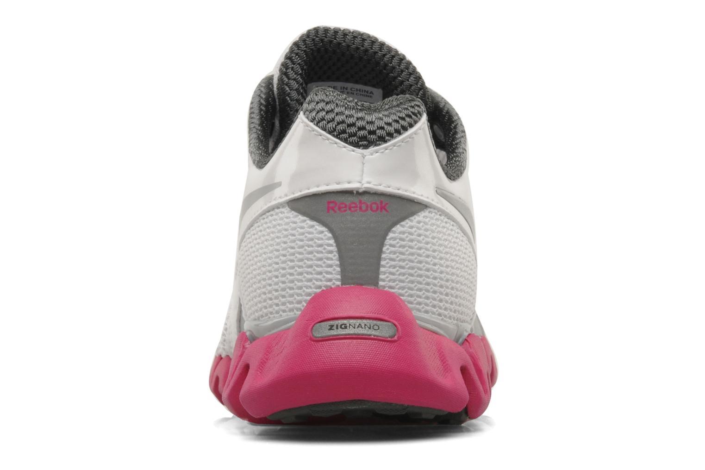 Chaussures de sport Reebok Premier Zigfly 2 W Blanc vue droite