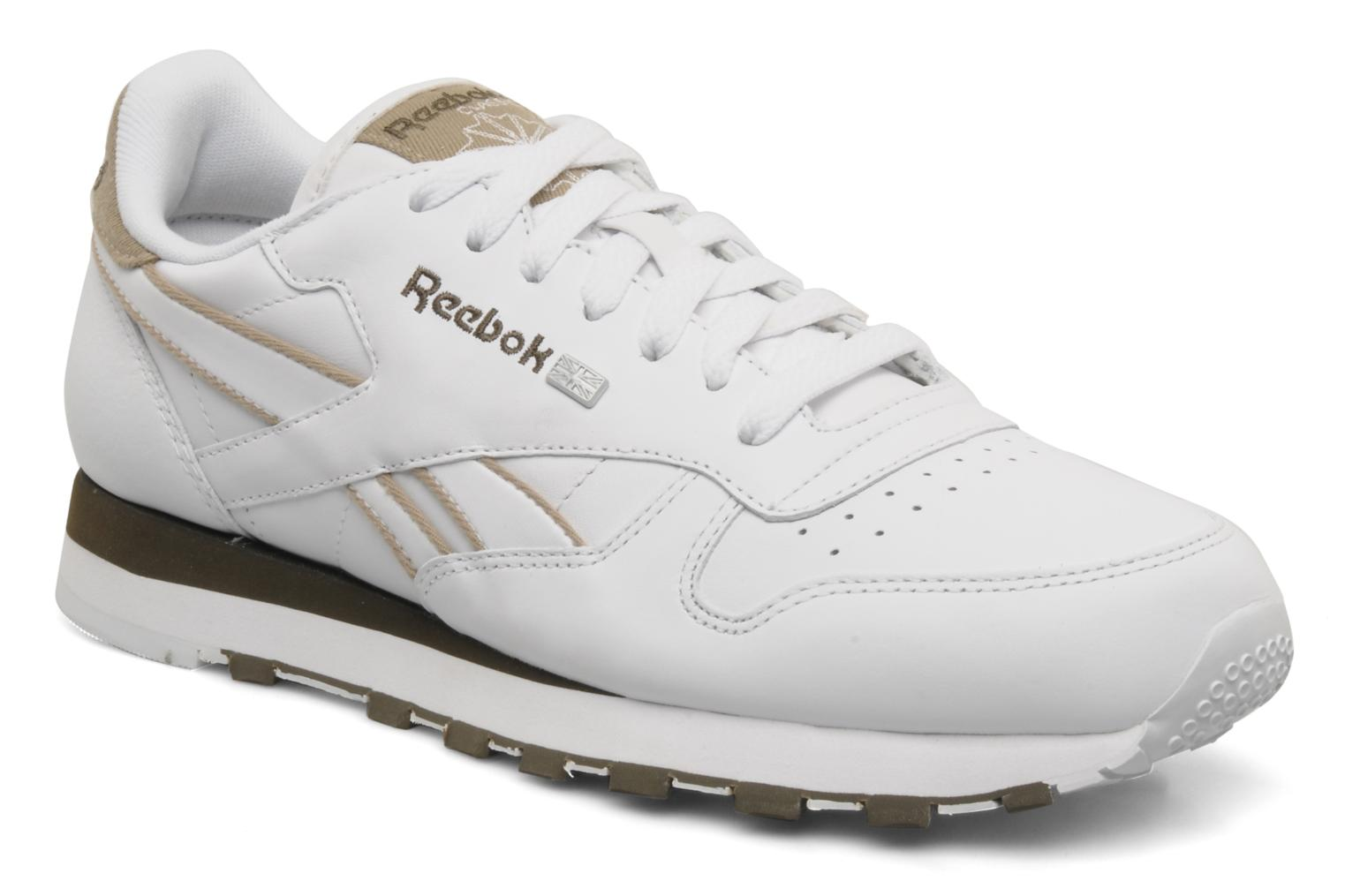 Trainers Reebok CL Leither Matl White detailed view/ Pair view
