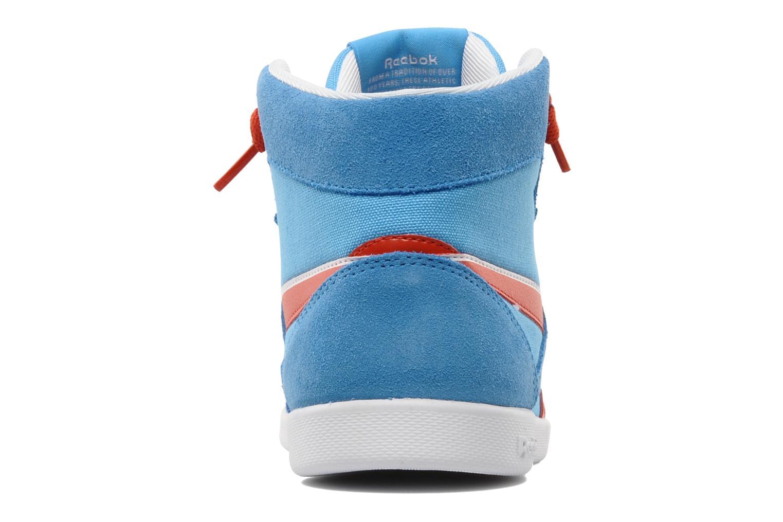 Sneakers Reebok Fabulista Mid Blauw rechts