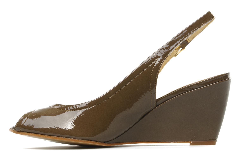 Sandales et nu-pieds Elizabeth Stuart Bambi 348 Marron vue face
