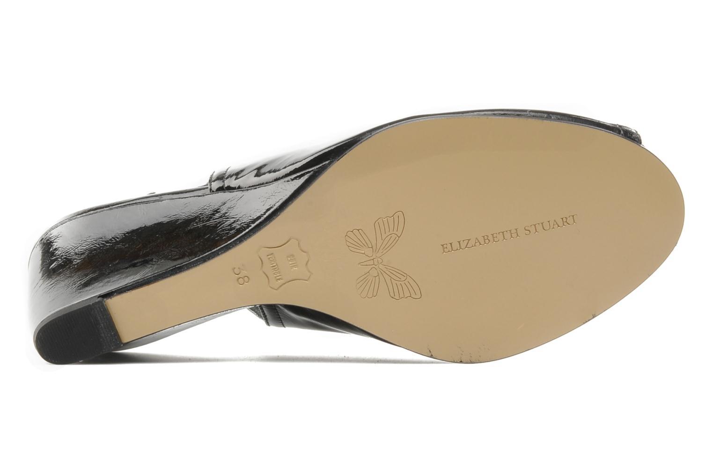 Sandales et nu-pieds Elizabeth Stuart Bambi 348 Noir vue haut