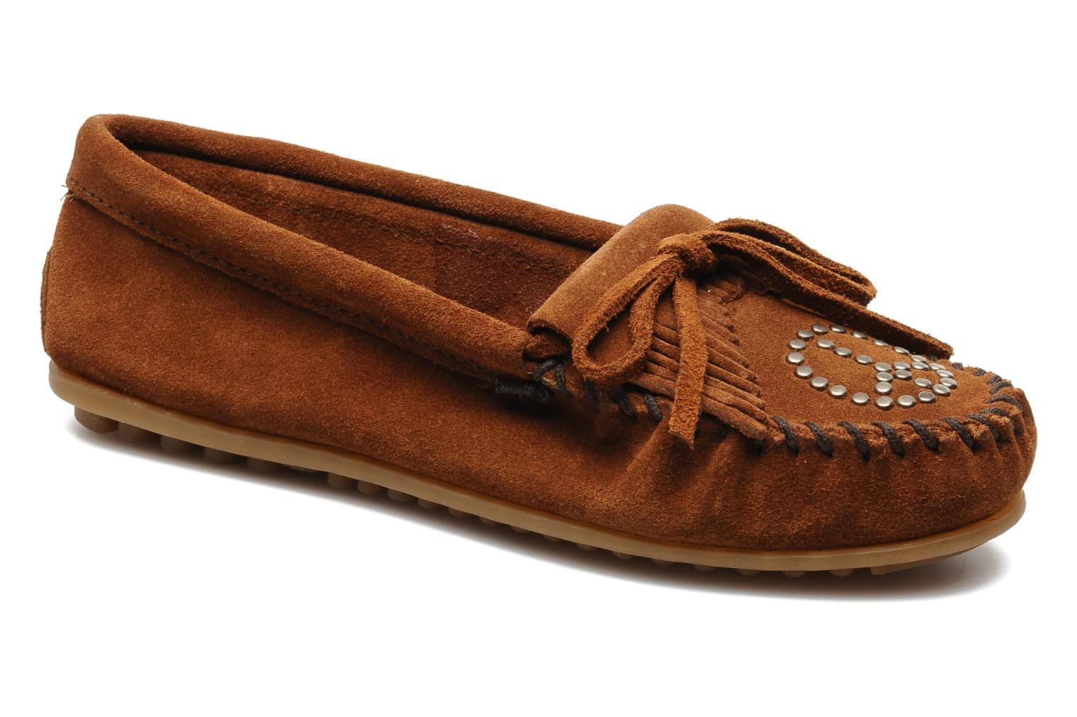 PEACE Brown Suede