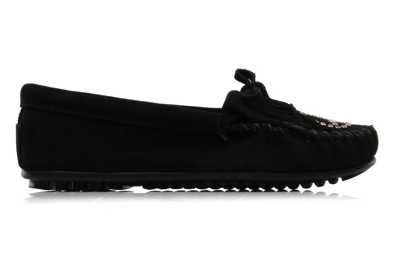 Loafers Minnetonka PEACE Black back view