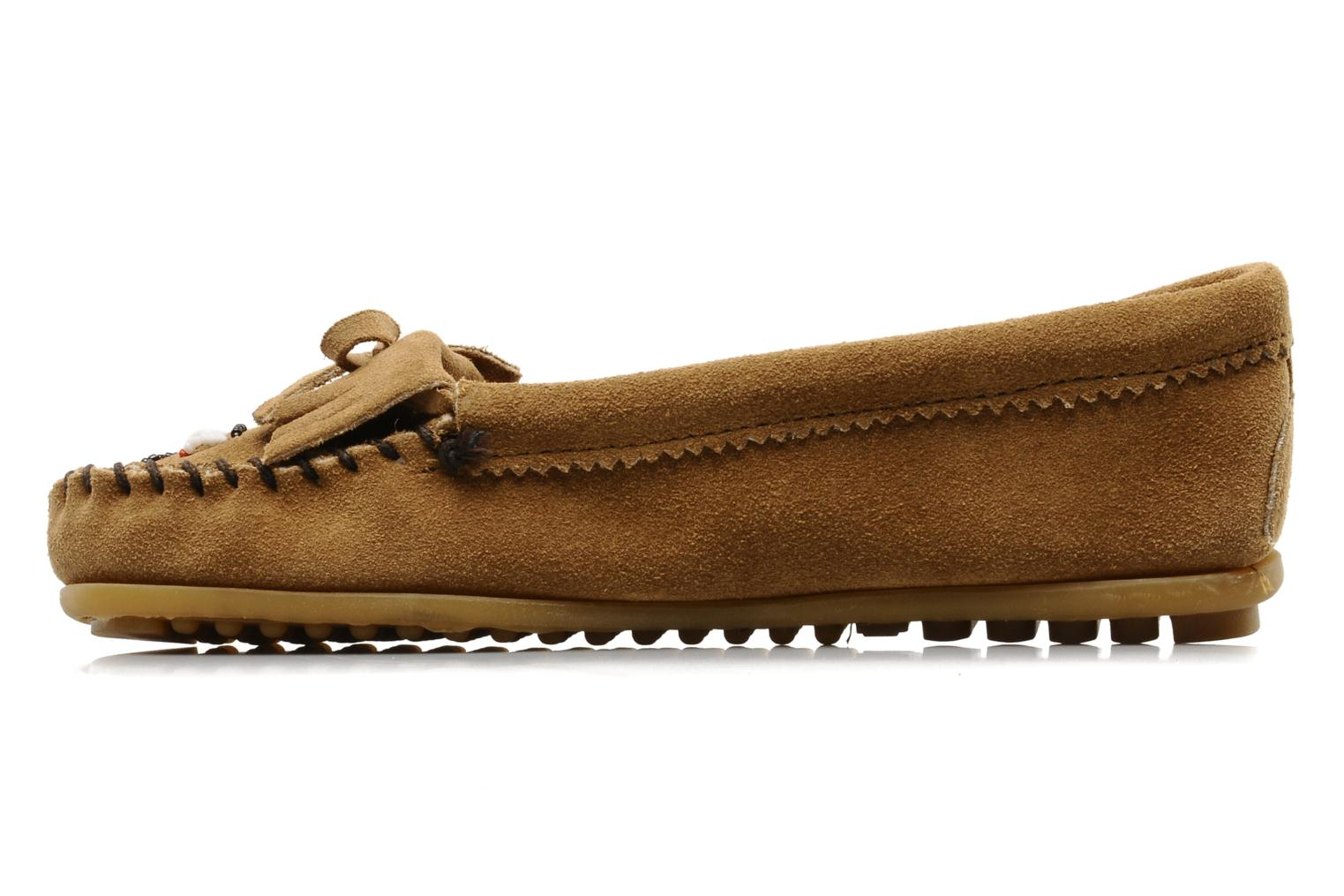 Loafers Minnetonka THUNDERBIRD 2 Beige front view