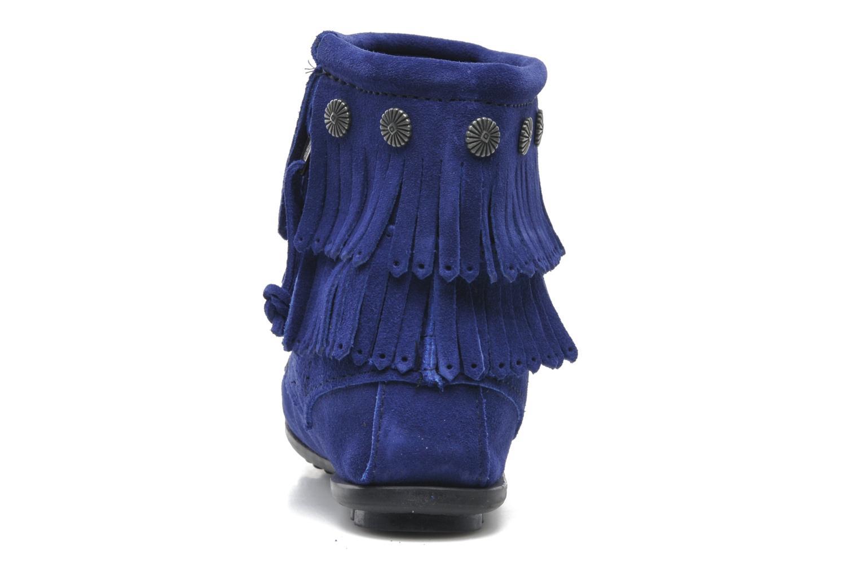 DOUBLE FRINGE BT Blue violet